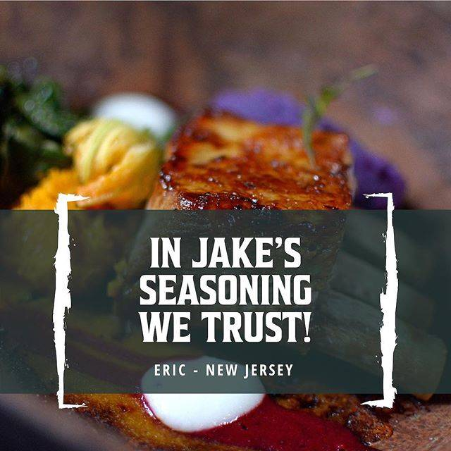 Jake's Seasoning Testimonial