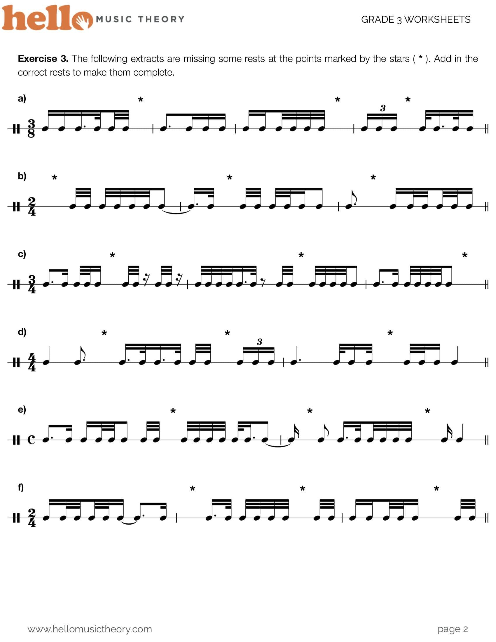 PDF Music Theory Worksheets | Hello Music Theory