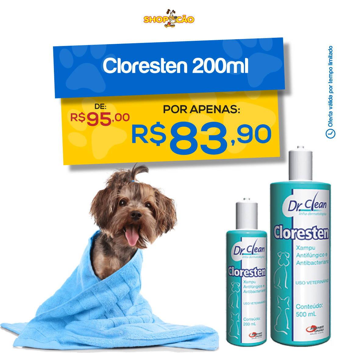 Cloresten Shampoo 200ml