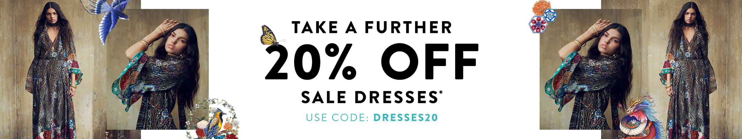 TAF 20% OFF DRESSES