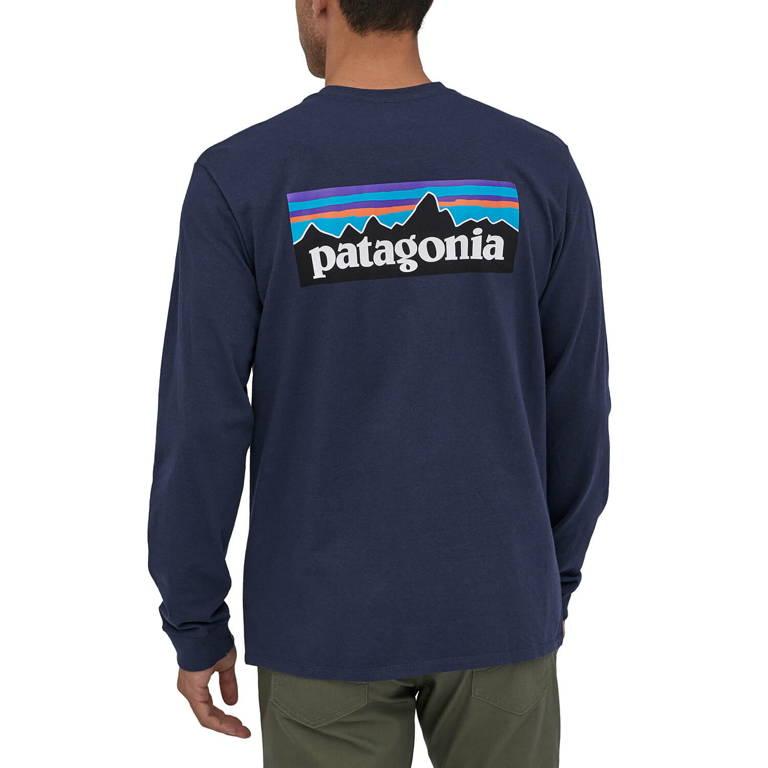 patagonia(パタゴニア)/ロングスリーブ P-6ロゴ レスポンシビリティー/ネイビー/MENS