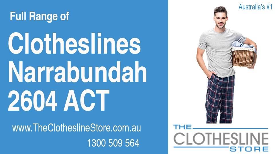 New Clotheslines in Narrabundah ACT 2604