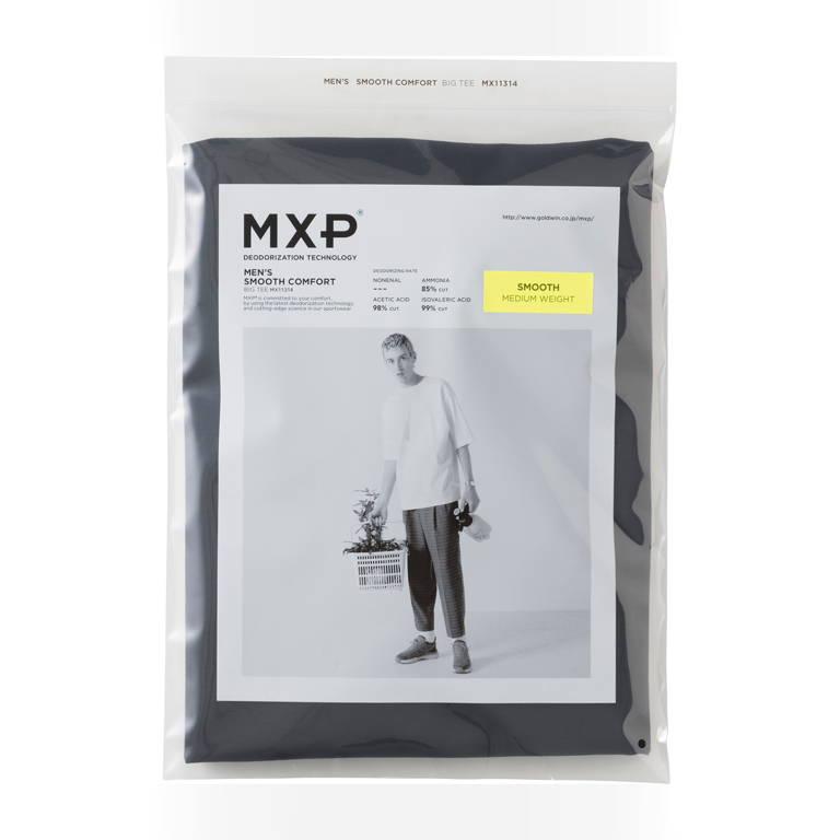 MXP(エムエックスピー)/スムースコンフォート ビッグティー/ネイビー/MENS