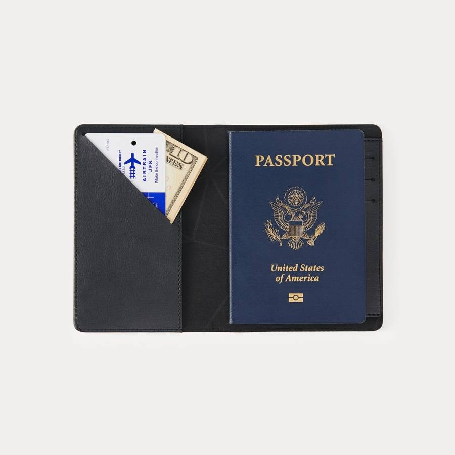 Minaal RFID Travel Wallet - Hold passports and credit cards