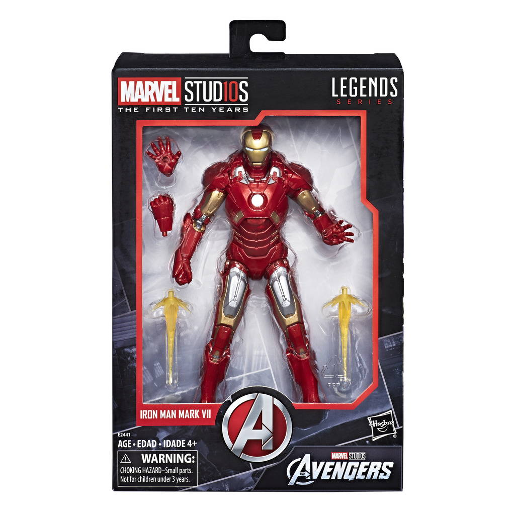 MARVEL STUDIOS: FIRST TEN YEARS - THE AVENGERS IRON MAN MARK VII
