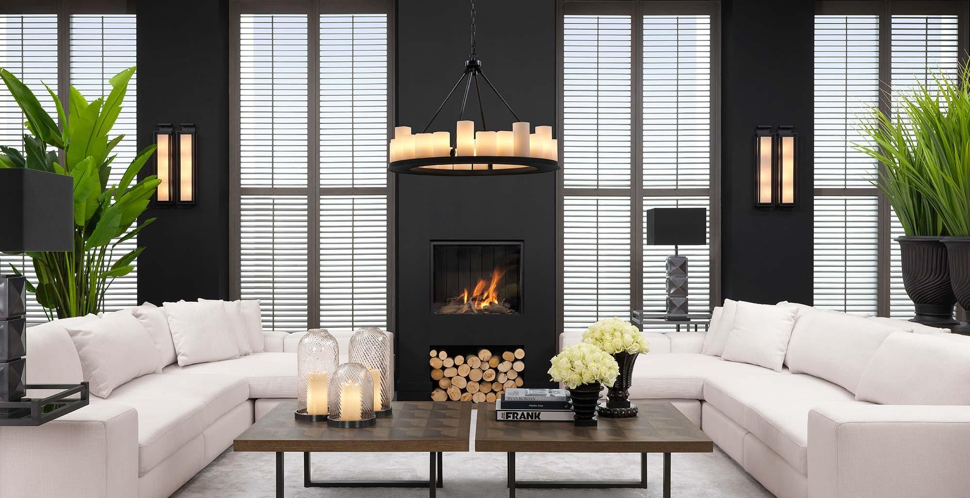Eichholtz Furniture - Luxury Living Room Design - LuxDeco.com