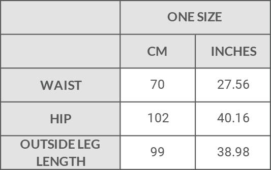 Filanda n.18 Annemarie Trousers Size Guide