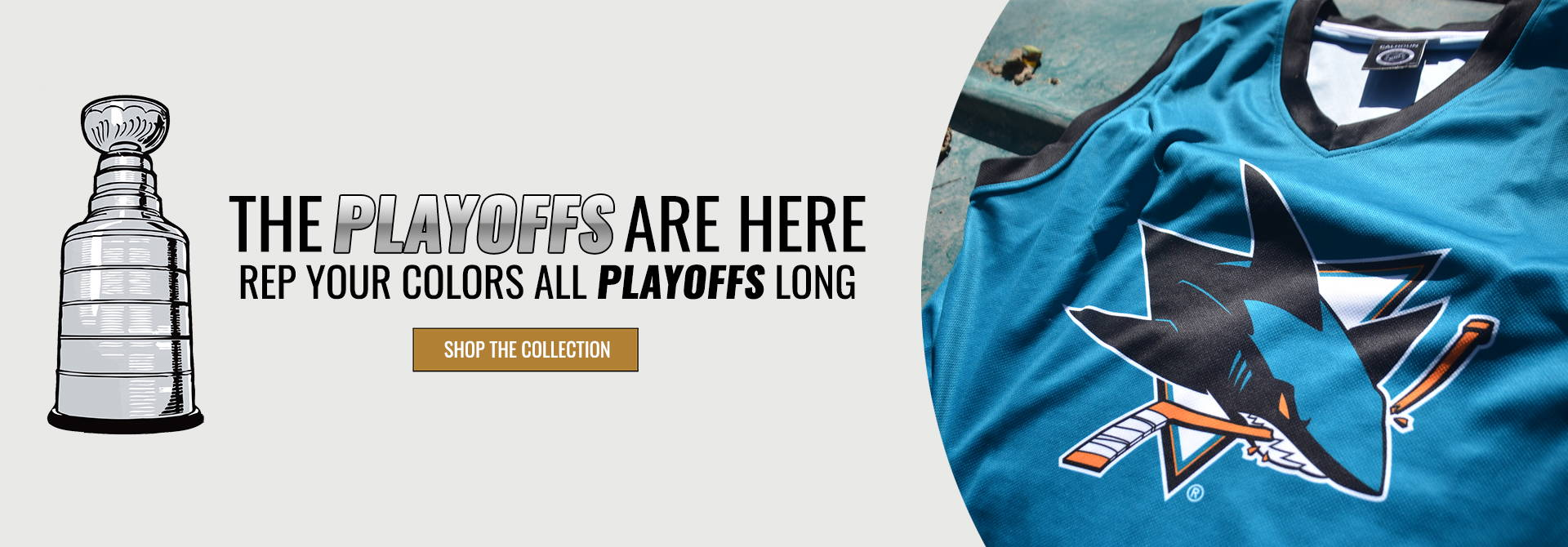 Bench Clearers Playoffs 2019 Desktop Product Banner