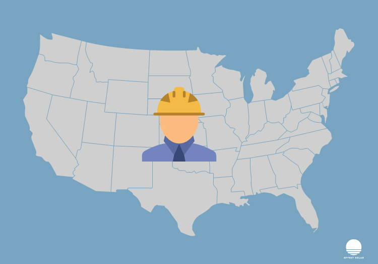 Avatar with hardhat over uSA