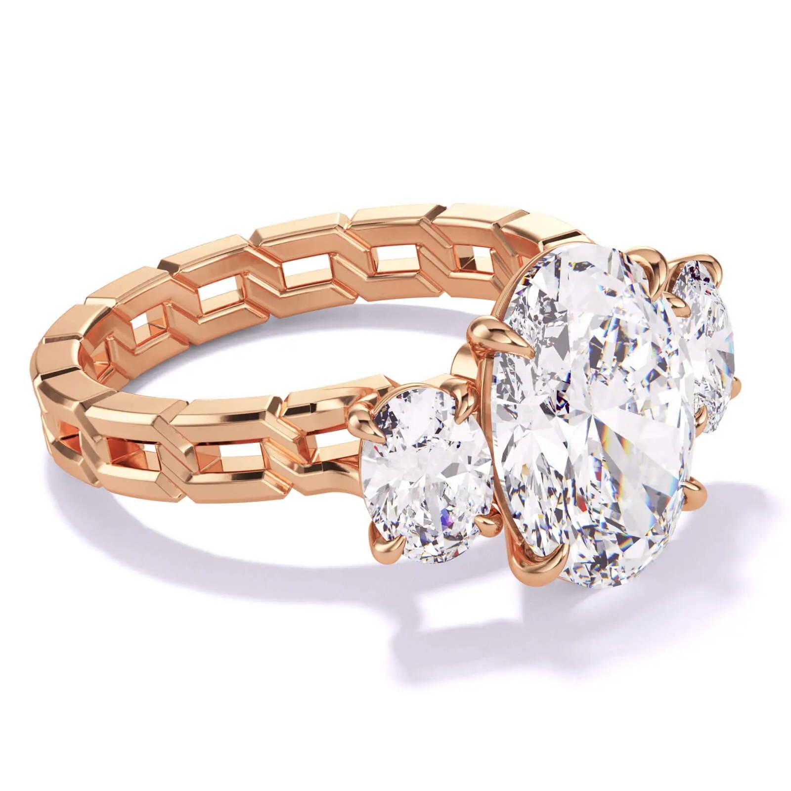 Lindsey Scoggins Studio engagement ring