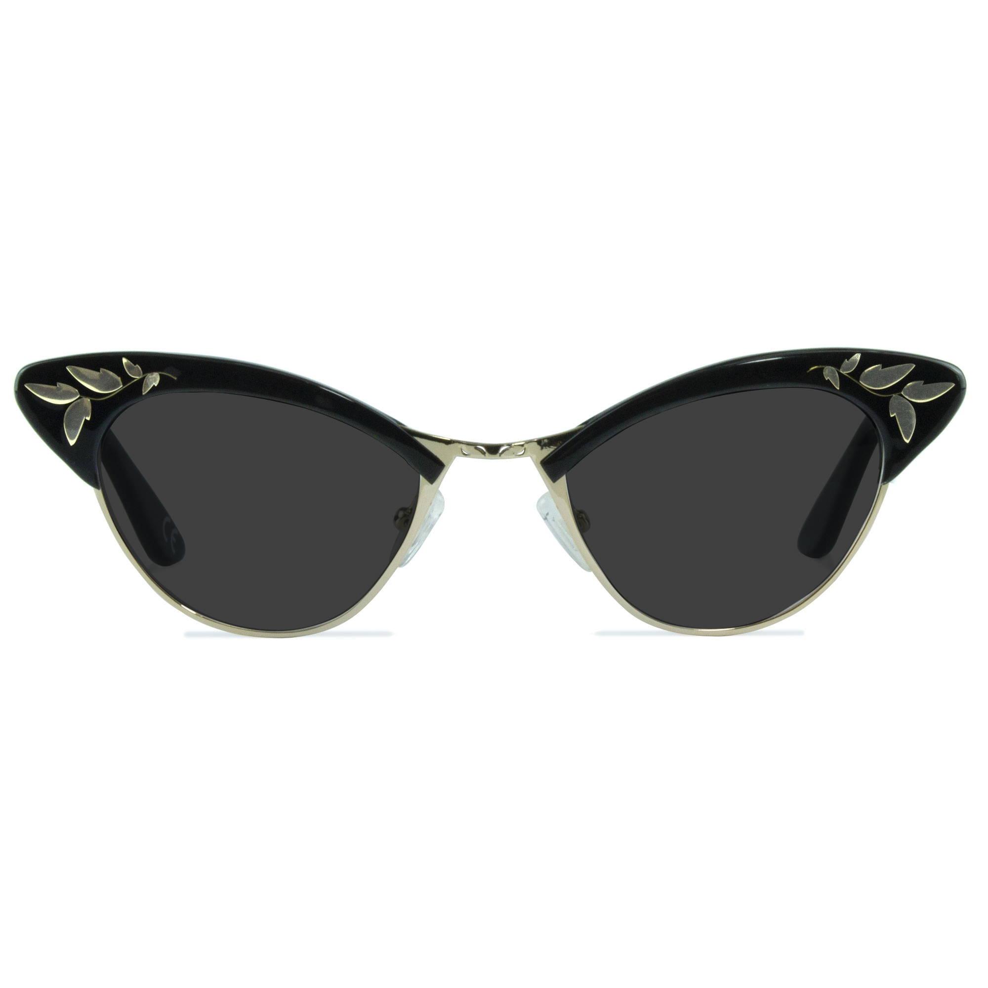 Joiuss rita black cat eye sunglasses