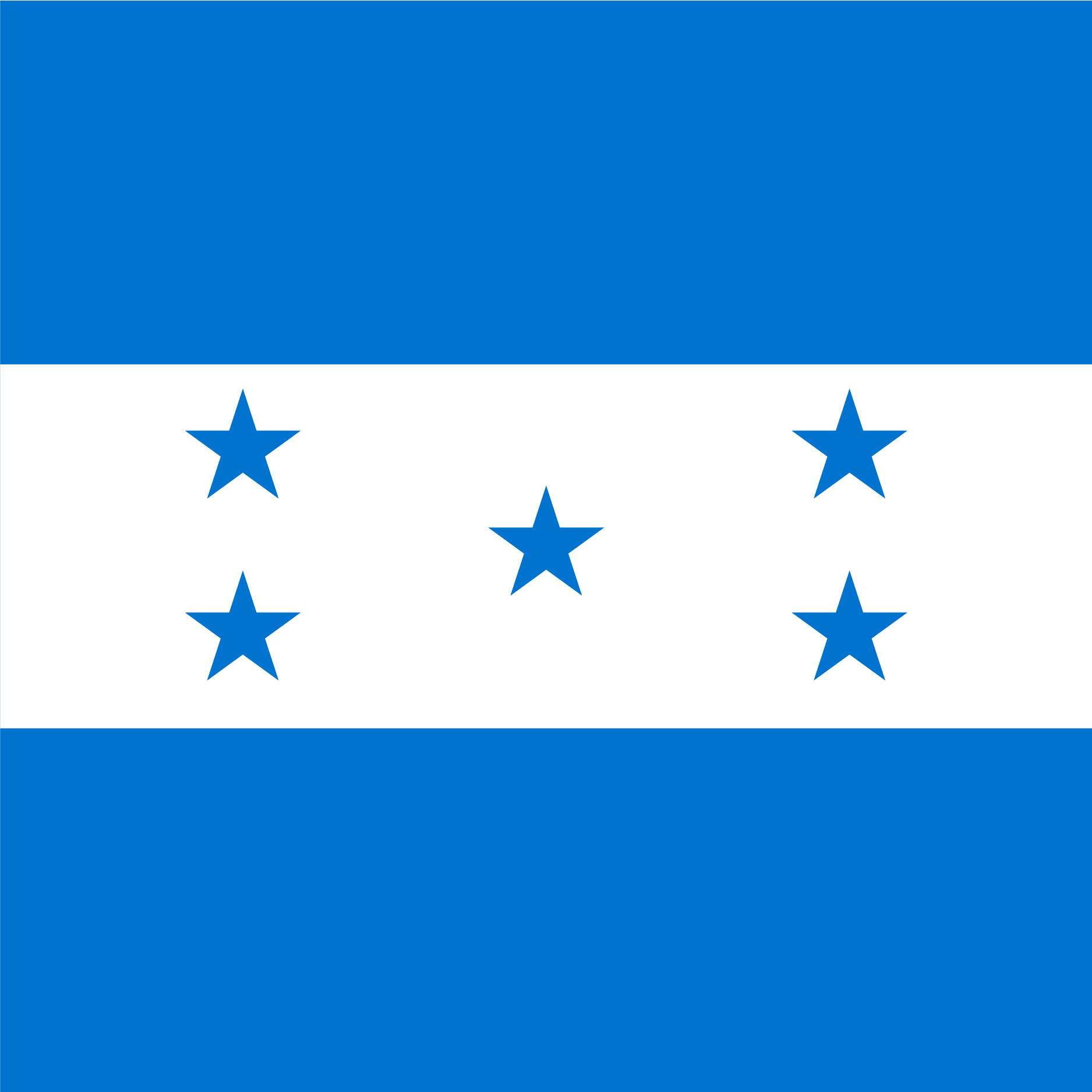 The Honduras Flag