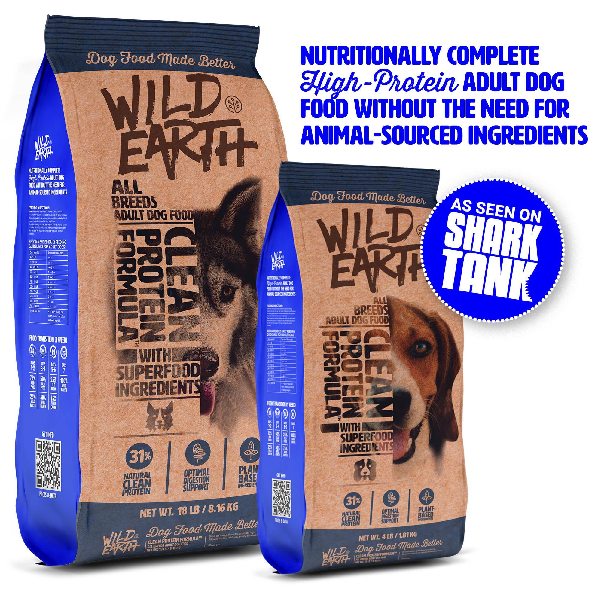 Dog Food Wild Earth