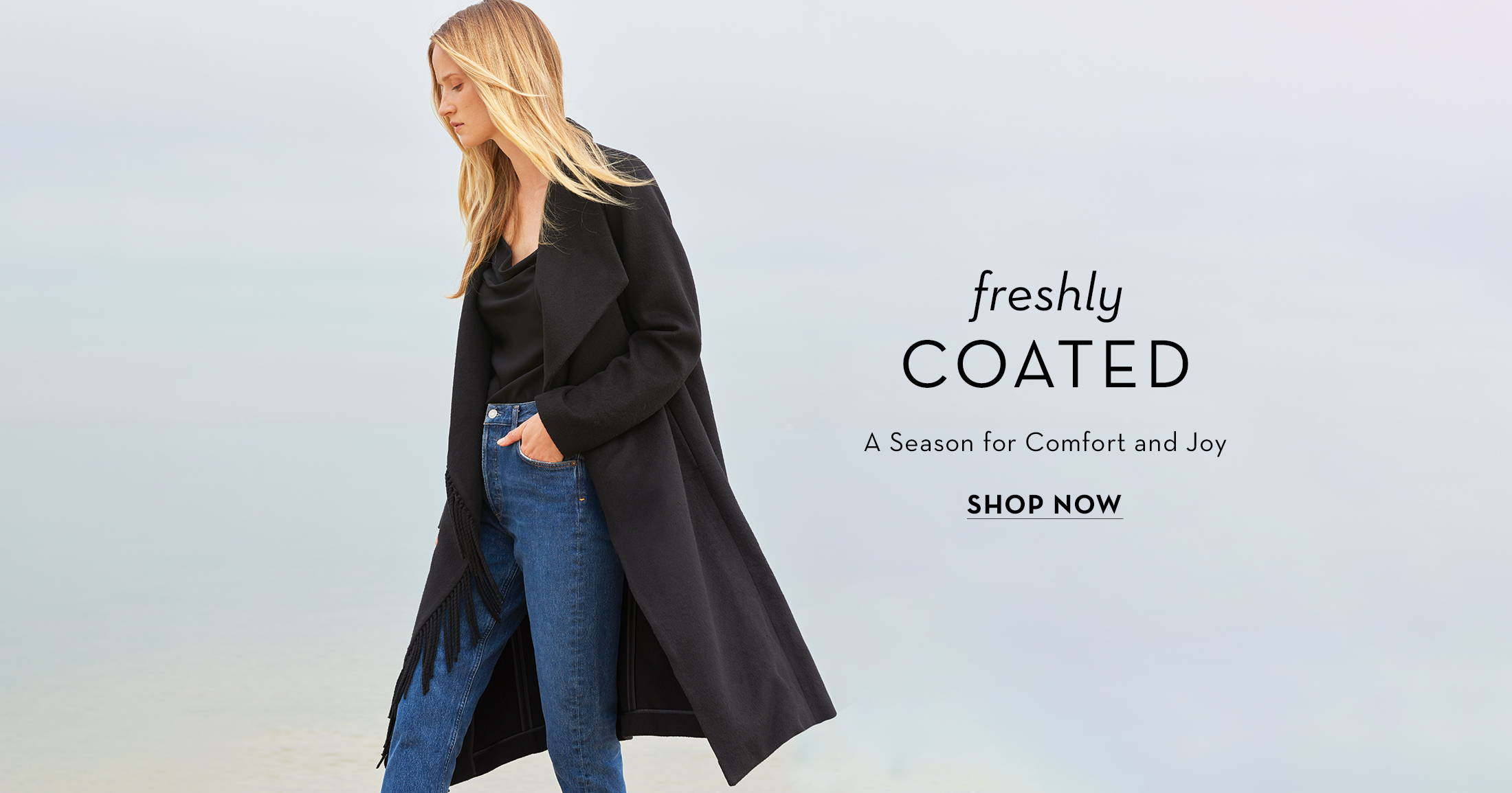 Freshly coated a season for comfort and joy, shop now