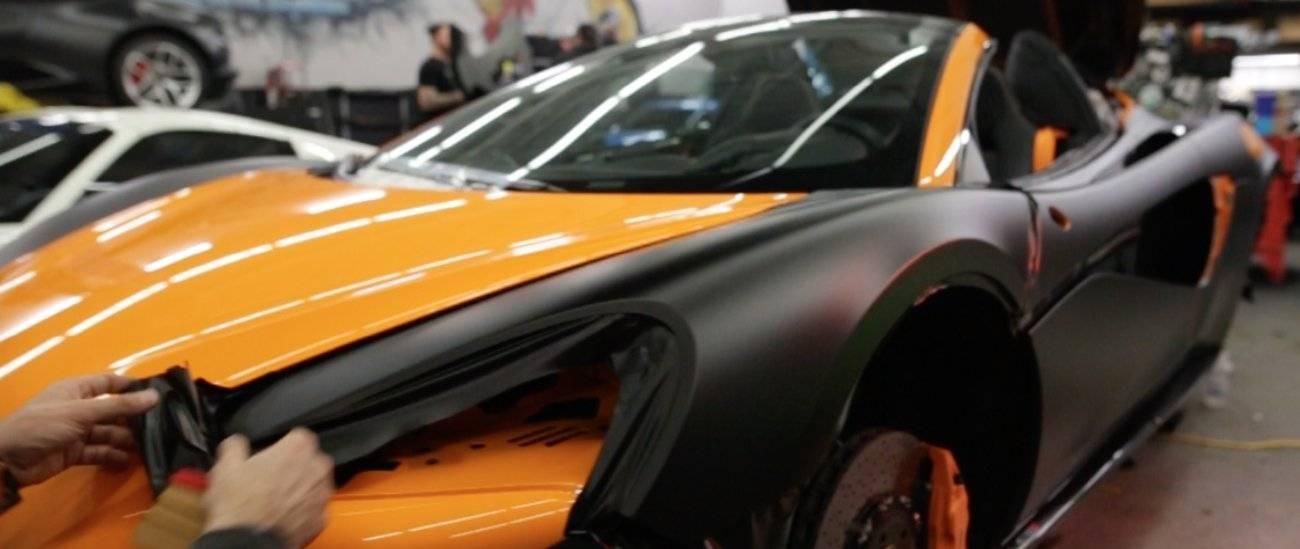 Vehicle Wraps 3M, KPMF, ARLON, and Oracal film materials