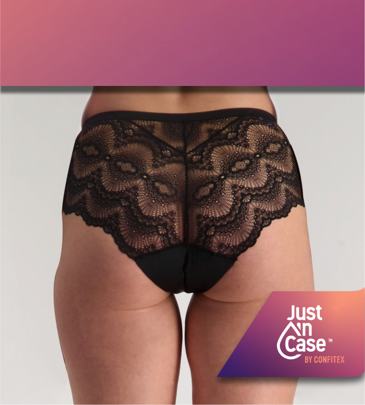 Shop Just'nCase period panties - 5 Super Tampons Worth!
