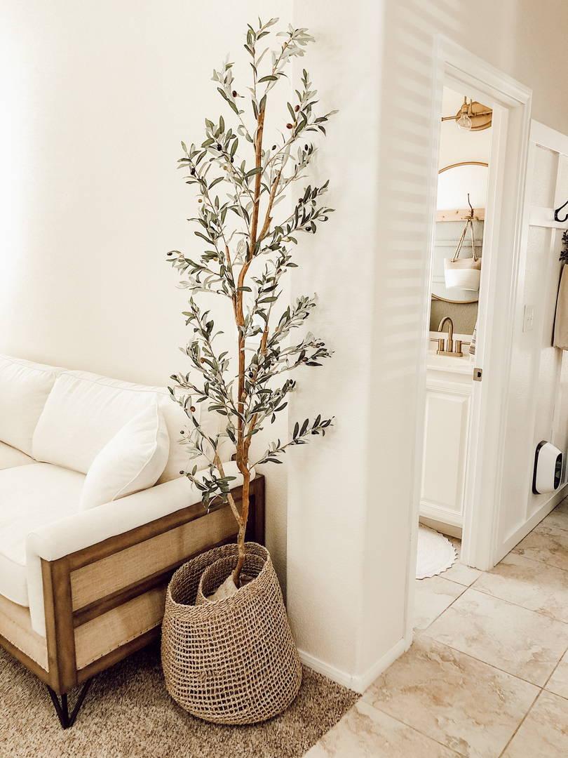 Bedroom Decoration Beautiful Fake Plants Tree