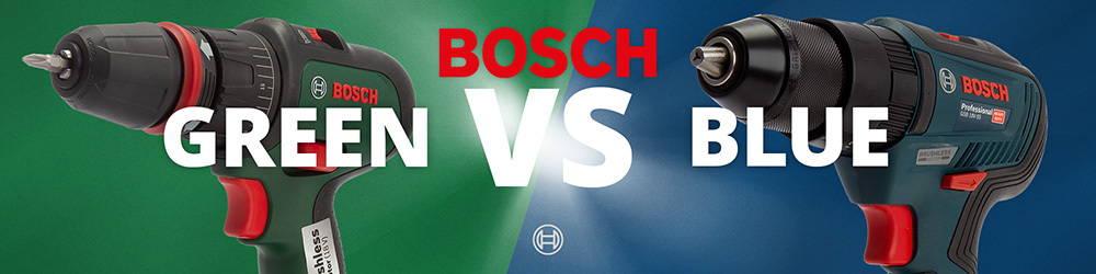 Bosch Green Vs Bosch Blue