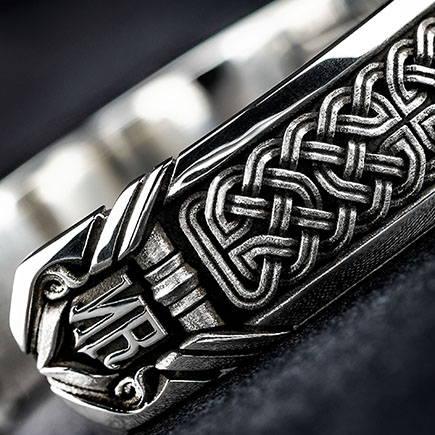 Sterling Silver Bracelets by NightRider Jewelry