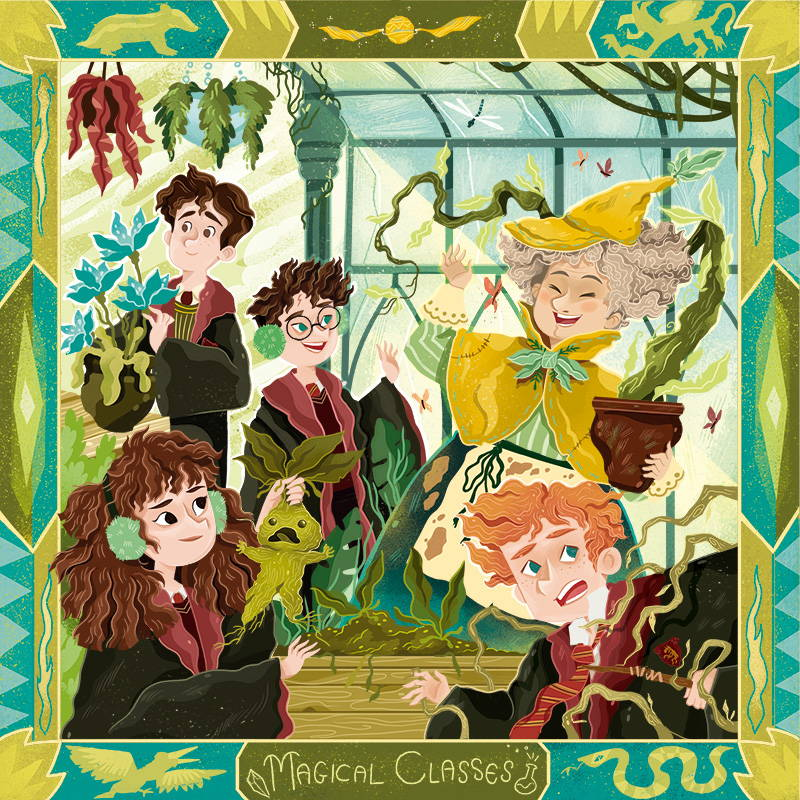 LitJoy Magical Classes Theme for the Summer 2021 Magical Edition Crate
