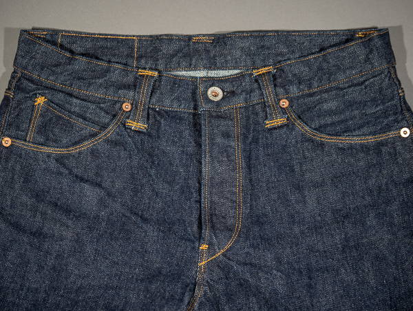 Stevenson Overall La Jolla unsaforized one wash version denim