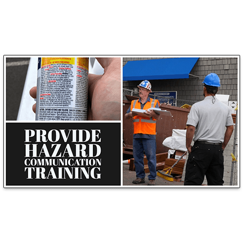 A Supervisor Provides Hazard Communication Training To Employees