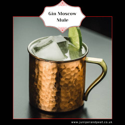 How to make a Gin Moscow Mule cocktail
