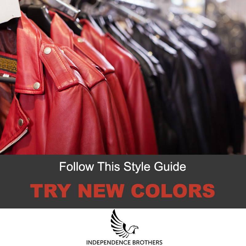 Style the ed leather jacket
