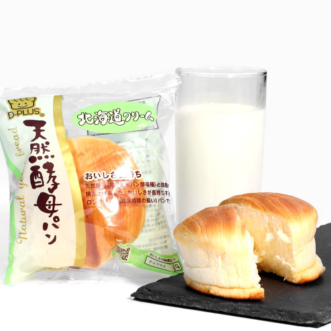 Natural Yeast Bread: Hokkaido Cream