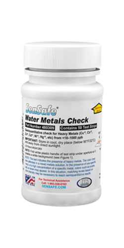 Water Metals Check bottle