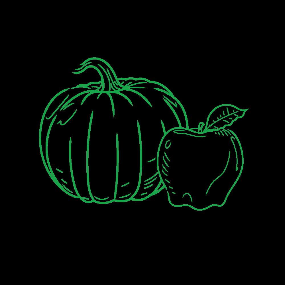 Locally sourced non-GMO fruits and veggies