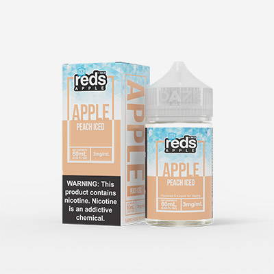 reds apple peach iced e liquid