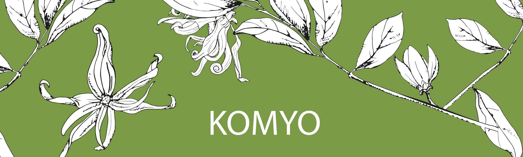 Image de la gamme Komyo de la collection Femme et Homme Dans un Jardin