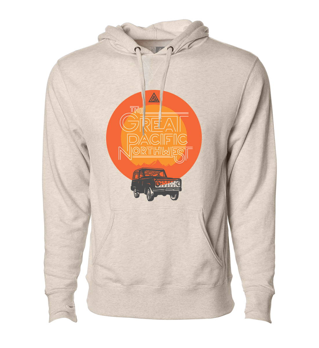 The Great PNW Bronco Hoodie