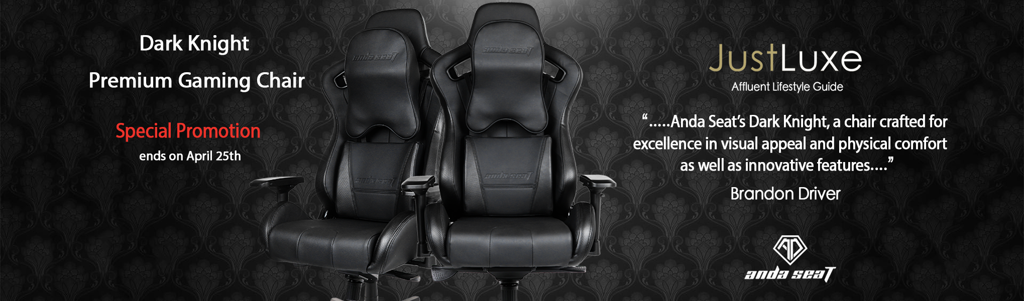 Gaming CHair promotion on sale