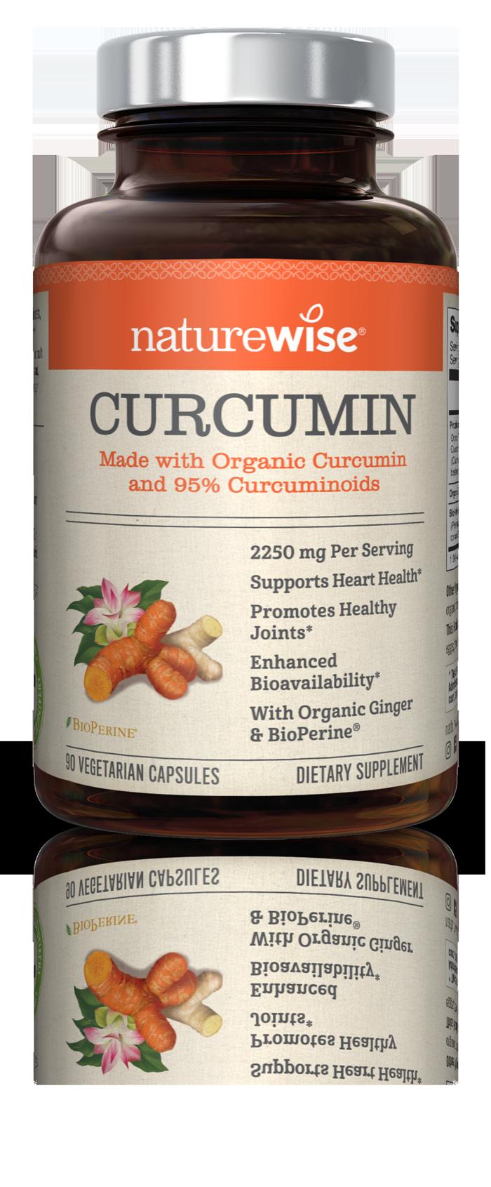 Curcumin bottle