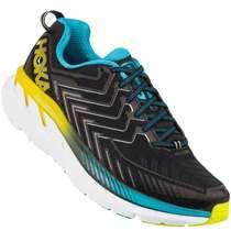 Hoka One One Clifton 4 Mens [ Black - Cyan - Citrus ] M1016723-BCCT