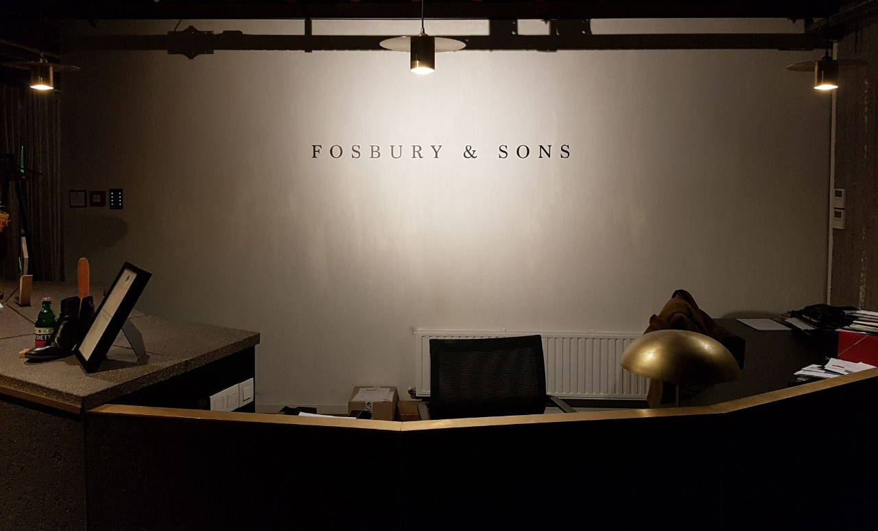 Fosbury and sons reception desk