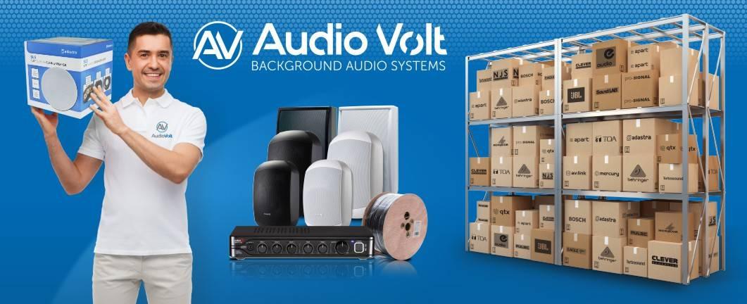 Audio Volt 100V line commercial audio stockist
