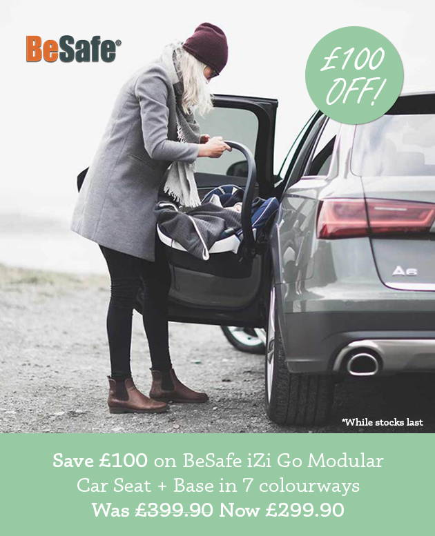£100 off BeSafe iZi Go Modular Car Seat + Base