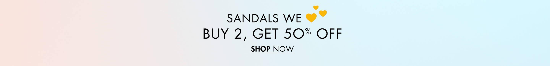 Buy 2 Get 50% Off