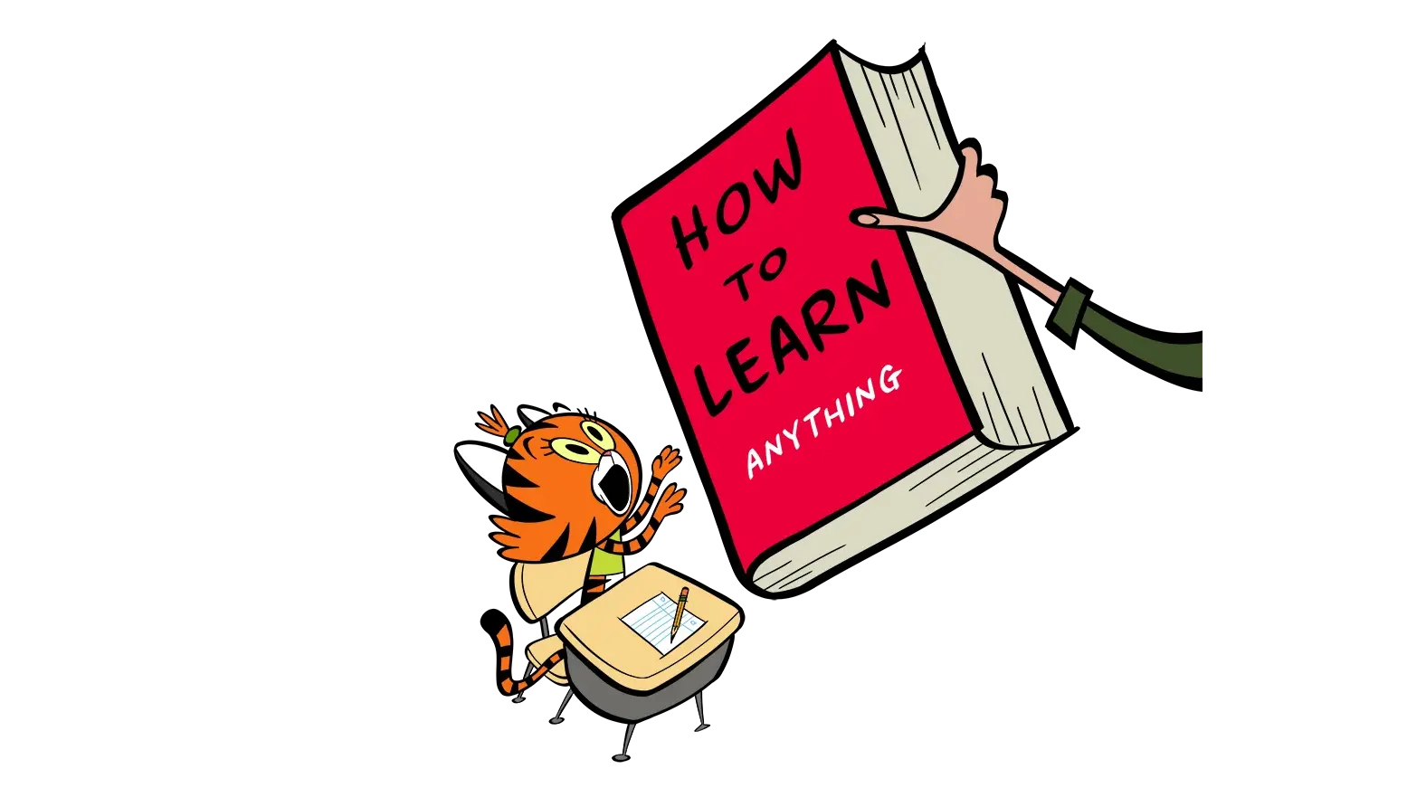 illustrated character learning