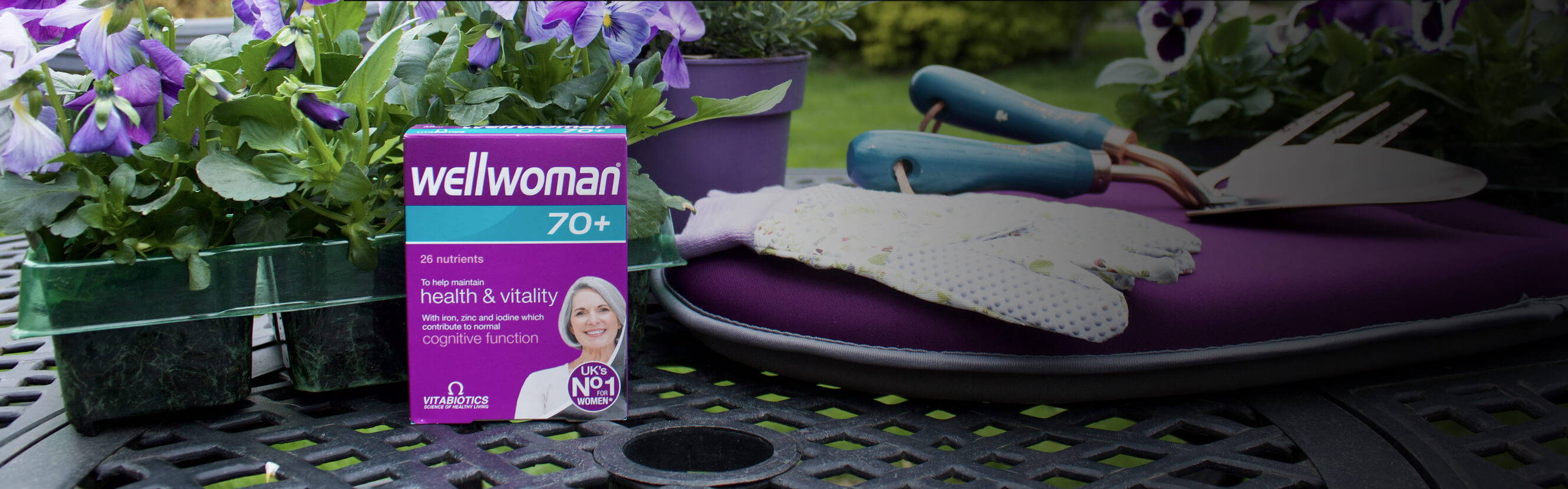 Wellwoman 70+ Pack In The Garden