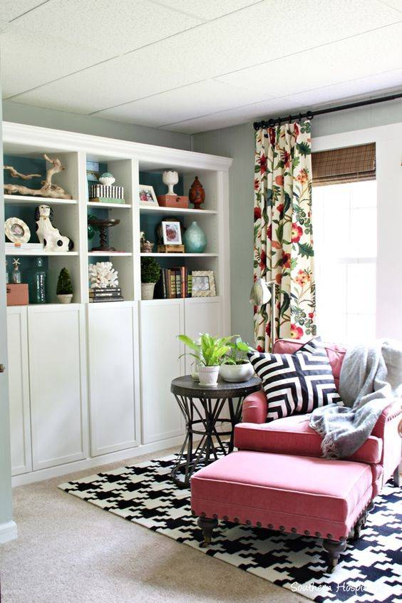 Floral patterns and decor trend for 2019.