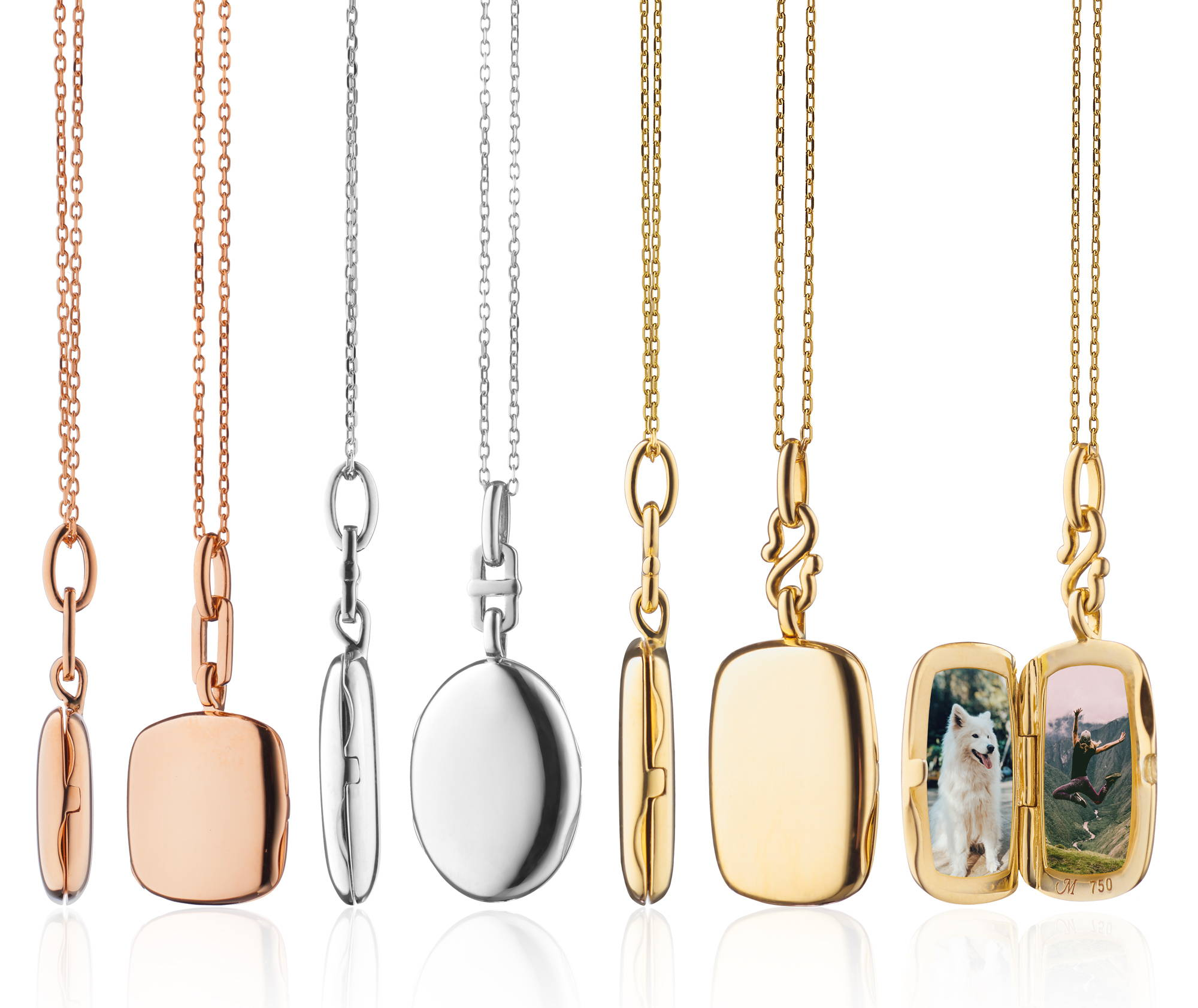 Slim Locket Collection