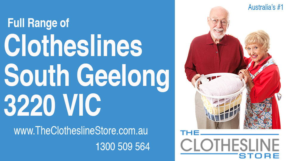 New Clotheslines in South Geelong Victoria 3220