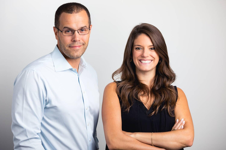 Joe and Lauren, Founders of ThreeMain