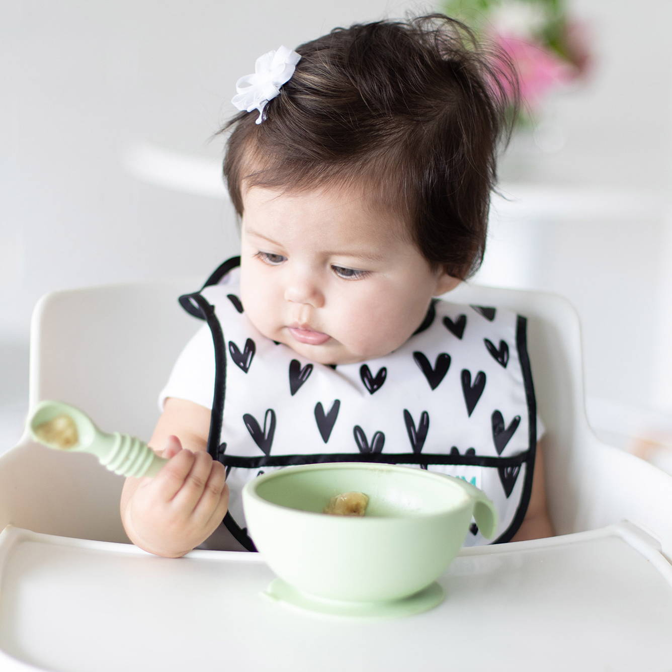 baby's first suction bowl and spoon