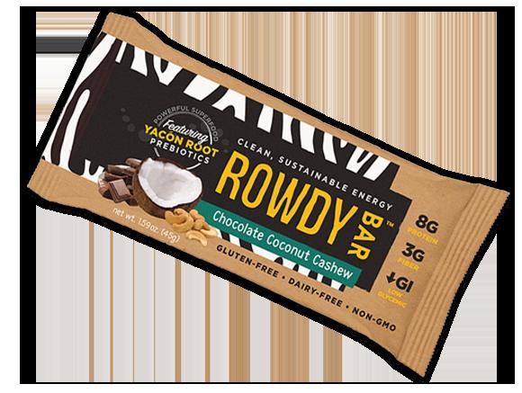 Chocolate Coconut Cashew Rowdy Bar