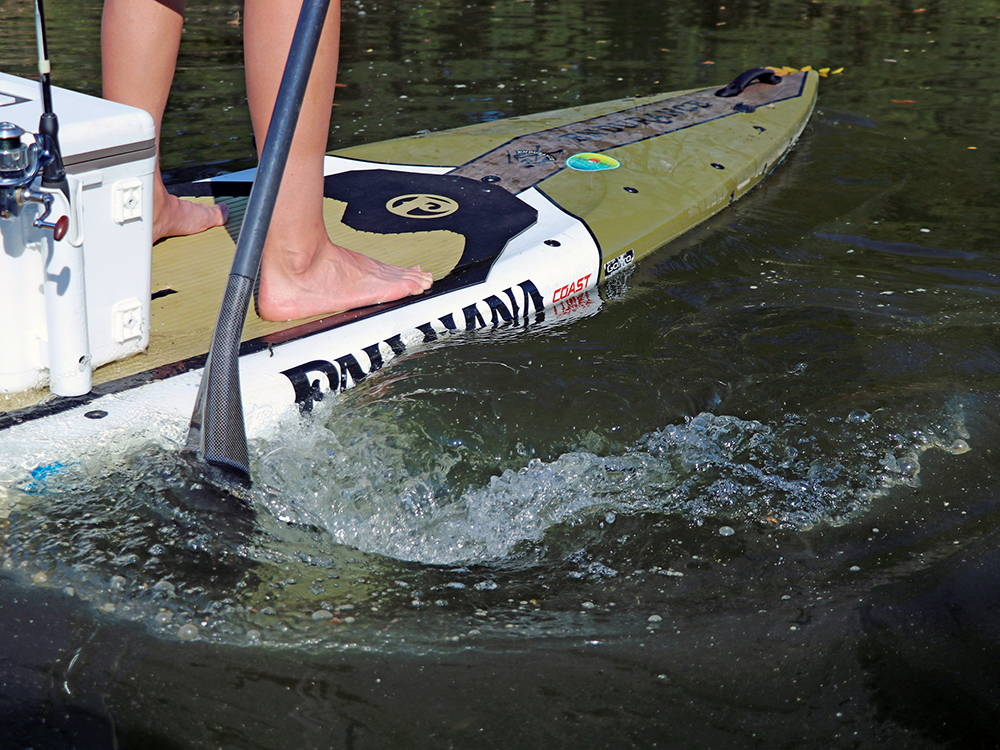 Paddling the Endurance Board